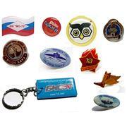 Изготовление сувенирных значков в Алматы фото