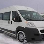 Комфортабельный микроавтобус Пежо 2012 года 18 мест. фото