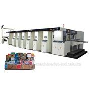 Стационарная печатная машина с глянцеванием, копировальной нарезкой и складыванием фото