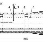 Концевой элемент трубопровода фото