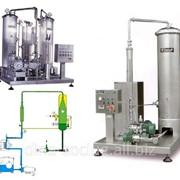Оборудование для сатурации воды углекислым газом фото