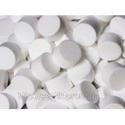 Соль таблетированная для умягчения воды фото