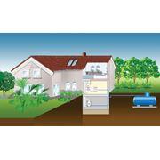 Установка системы автономного газоснабжения фото
