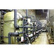 Глубокое умягчение воды на производстве фильтры FU-3672GL2 ионнообменныая смола фото