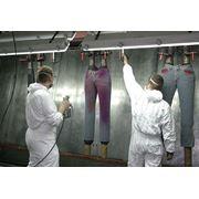 Химчистка и покраска изделий из текстиля фото