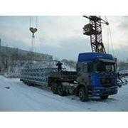 Доставка металлоконструкций на строительную площадку фото