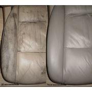 Реставрация кожаных салонов автомобилей Ремонт изделий из кожи фото