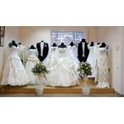 Прокат костюмов и платьев вечерних свадебных Прокат готовых изделий фото