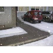 Обогревательные системы тротуаров фото