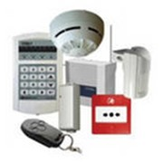 Монтаж cистем охранной сигнализации фото