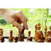 Обучение игре в шахматы фото