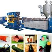 PE / PVC экструдер, оборудование для производства труб фото