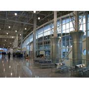 Строительство терминалов аеропортов фото