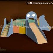 """Детская игровая мебель: Горка-манеж """"Осьминог"""" 18048 фото"""