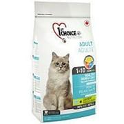 Корм 1st Choice Adult Healthy Skin & Coat Фест Чойс для кошек Здоровая кожа и шерсть с лососем, 350 фото
