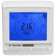 Сенсорный недельный программируемый терморегулятор для инфракрасных обогревателей (Terneo.sen) фото