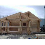 Изготовление и монтаж деревянных конструкций фото