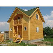 Дом из бруса 1 фото