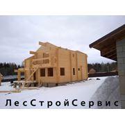 Комплекты домов из профилированного бруса фото