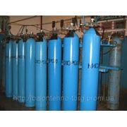 Заправка и доставка кислорода и технических газов в баллонах фото