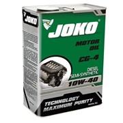 Моторное масло JOKO DIESEL Semi-synthetic CG-4 10w-40 4л фото