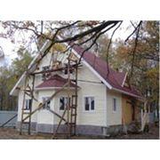 Дома каркасно-щитовые фото