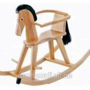 Лошадь-качалка Halla 2932 NA (натуральный) от Geuther фото