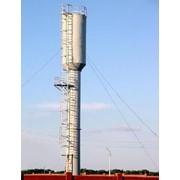 Водонапорные башни объемом бака 15м3, 25м3, 50м3, 75м3 фото