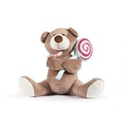"""Мягкая игрушка Bebelot """"Мишутка с леденцом"""" (20 см) фото"""