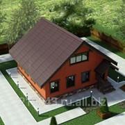 3D визуализация дома фото