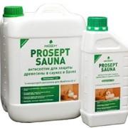 Антисептик для бань и саун PROSEPT SAUNA - концентрат 1:10, 1 литр