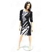 Платье Матекс «Шакира». Цвет: черный, белый фото