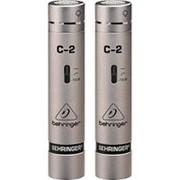 Behringer C-2 -микрофоны (пара),20 Hz - 20 kHz,конденсатор,для студийной или концертной работы фото