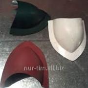 Заглушка конусная для бочкообразного конька фото