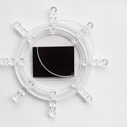 Акриловая заготовка для магнита на холодильник в форме штурвала: внешний диаметр D: 96 мм фото