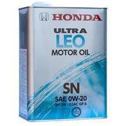 Масло моторное HONDA Ultra Leo SN 0W20 (JP) 4л фото