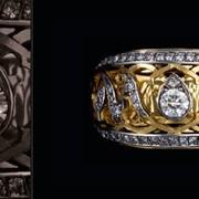Кольца с драгоценными камнями. фото