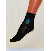 Носки детские гладкие с рисунком С841 фото