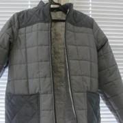 Куртка стеганная утепленная фото