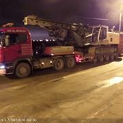 Аренда Трал ТверьСтройМаш+Тягач Scania 40т фото