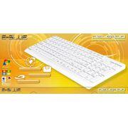 Клавиатура E-Blue Delgado проводная белая компактная USB фото