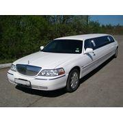 Аренда лимузина Lincoln Town Car III 10 мест 5 дверей фото