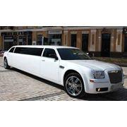 Аренда лимузина Chrysler 300C White Star