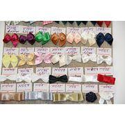 Текстильный декор, бантики, розочки фото