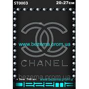 Стразы Chanel (1шт.на листе) фото