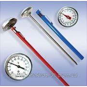 Термометры биметаллические игольчатые ТБИ фото