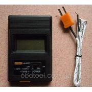 Цифровой термометр TM-902C + термопара от -50°C до +1300°C фото