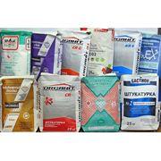 Мешки бумажные 25-50кг под сухие смеси и цемент фото