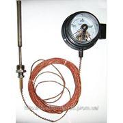 Термометры манометрические показывающие сигнализирующие ТМП-100С фото