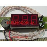 Термометр-сигнализатор электронный Т-0,56С (красный) фото